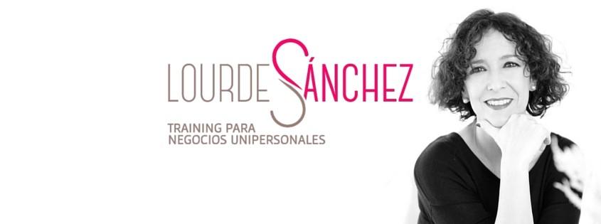 Lourdes Sánchez - Training para negocios unipersonales con foto